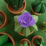 detall flor lila