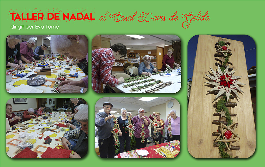 taller casal avis Gelida Nadal 2015