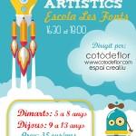 tallers artistics Les Fonts
